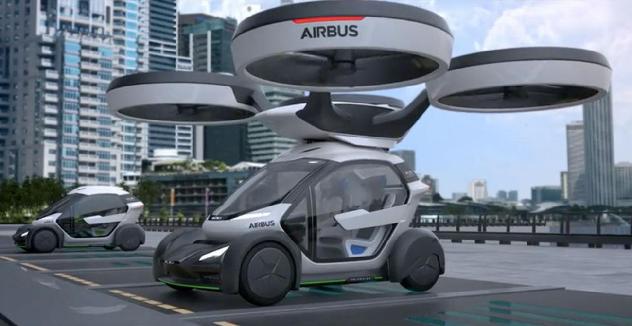 Pop Up Le Concept D 39 Airbus Qui Combine Drone Et Auto